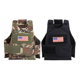 China 600D Oxford Camouflage Hunting Vest CS Hunting Tactical Vest Wargame Body Molle Armor Protection supplier body armor vests suppliers