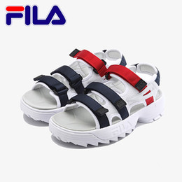 Size womenS SandalS online shopping - Fashion Fila Sandals For Mens Womens Beach Slippers Black White Red Anti slipping Quick drying Outdoor Soft Water Sandal Size