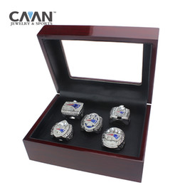China Drop shipping 5 PCS Sets 2001 2003 2004 2014 2016 new England patriots championship rings cheap england patriots suppliers