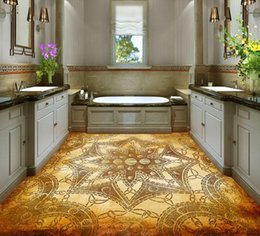 Chinese  Floor wallpapers for living room European creative pattern 3D floor wall mural photo wallpaper manufacturers