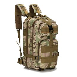 Discount 3p backpacks - Wholesale 30L 3P Attack Tactical Military Backpacks Unisex Outdoor Travel Bag Mountaineering Hiking Back pack Camping Tr