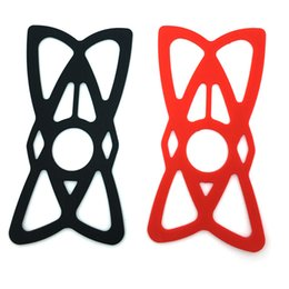motorbike phone holders 2019 - Universal Bicycle Silicone Spider Web Mobile phone Protecting Net Fixed Rubber Silicone Web for Bike Mount Holder Motorb
