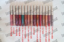 Chinese  Free Shipping ePacket New Makeup Lips ColourPop Ultra Metallic Matte Lip gloss Matte Liquid Lipstick!3.2g manufacturers