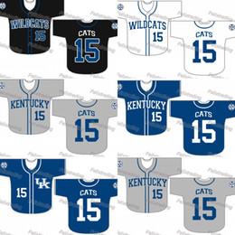 xxxl free 2019 - Custom Kentucky Wildcats Baseball Jersey Women Youth Men White All Stitched Baseball Jerseys Fast Free Shipping cheap xx