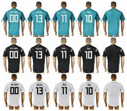 world cup soccer shirts 2019 - 2018 World Cup Soccer Jersey 13 Muller 11 Reus 10 Ozil 8 Kroos 7 Draxler 1 Neuer 18 Kimmich 17 Boateng 6 Khedira 5 Humme