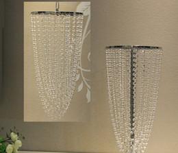 Discount pirated movie wholesaler - luxury suspending crystal decoration chandelier flower Vase stand crystal Wedding centerpieces dedoration flower vase ho