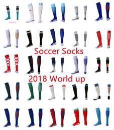 gold cup socks 2019 - AAA Thailand Soccer Socks 2018 world cup mexico USA Spain Argenti Home away Soccer Long Socks adult football sport Sock