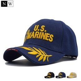 Discount tactical army hat - [NORTHWOOD] 2017 Tactical US Marines Cap Mens Baseball Cap US Army Hat Snapback Caps Adjustable Navy Seal Casquette Tact