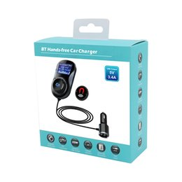 Handfree car kits online shopping - 3 in BC30 fast charger kit with M charging cord fit with air vent FM transmitter handfree MP3 music player with inch led display