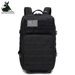 army backpacks camo 2019 - Wholesale Sports Outdoor Backpack 43L Attack Large 3P Tactical Backpack Travel Backpack Wild Camo Pack Outdoor Hiking Ca