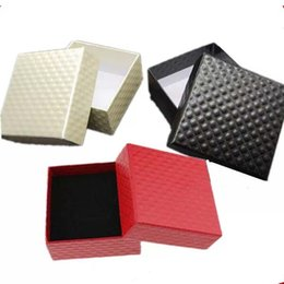 Wholesale cardboard necklace display online shopping - 7 cm Jewelry Cases Display Cardboard Packaging Gift Boxes for Necklace Earrings Ring Bracelet Sets
