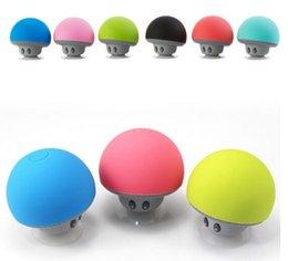 MushrooM prices online shopping - Cheap Price Mushroom head Hands free Bluetooth stereo cute mini wireless Bluetooth portable speaker hot item by dhl