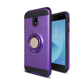 Chinese  Armor Case For Samsung galaxy J4 2018 J6 2018 For Motorola MOTO G6 PLAY 360 Degree Holder Magnetic Suction Bracket phone Case B manufacturers