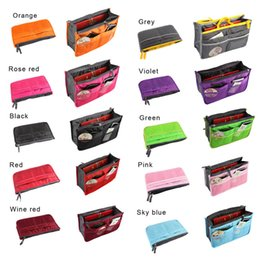 Open cOsmetic bag online shopping - Unisex Portable Cosmetic Organizer Large Capacity Travel Bag Multi Functional Cosmetic Bag Wash Makeup Bags Colors