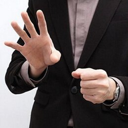 AppeAring mAgic trick online shopping - Magic Thumb Tip Trick Rubber Close Up Vanish Appearing Finger Trick Props