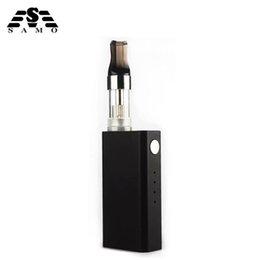 Discount gold hookah pens - NEW Mini 10w electronic cigarette for liquid kit 500mah vape pen 1.5ml wipe tank vapes vaporizer e-cigarettes mod box ki