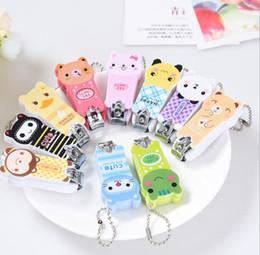 cute cartoon nail clippers 2019 - Cheap Nail Clippers Key Chain Cute Cartoon Nail Scissors Panda Nail Clippers Frog Charm Mobile phone chain 172 cheap cut