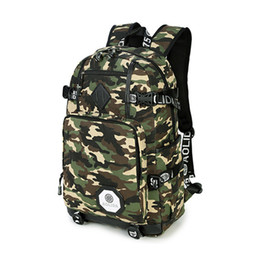 Discount army backpacks camo - New Camo College School Backpacks Shoulder Bags for Teens Girls Boys Travel Rucksack Daypack Oxford Camouflage School Ba