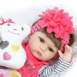 baby boy soft toys 2019 - gift picture Bebe Silicone realista 42cm Baby Doll kids Playmate Gift For Girls new year toys soft body boneca reborn ch