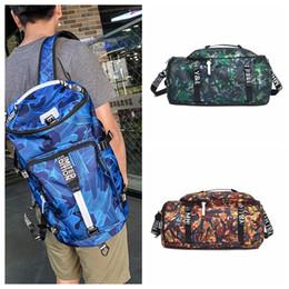 Orange green handbag online shopping - Camouflage Travel Bag Colors Large Capacity Multifunctional Backpack Portable Camping Sports Camo Shoulder Bag Girls Handbags OOA5441