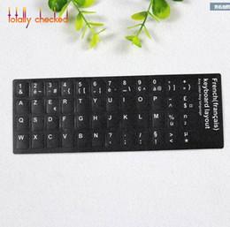 russian language 2019 - 50PCS Pack Arabic Spanish Portuguese Russian French English Keyboard Sticker Russia Language RU Layout cover Keyboard Ke
