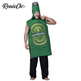 Discount battle dress - Adult beer battle Costume Masquerade Christmas Party Role Play Funny beer Clothes Fancy Dress Cosplay Emoji Costume Hall
