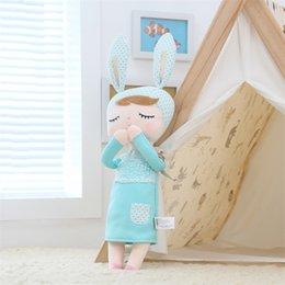 Discount baby boy soft toys - Cheap Dolls Kawaii Soft Stuffed Plush Animals Cartoon Kids Toys for Girls Children Baby Birthday Christmas Gift Angela R