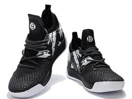 Chinese  Harden Vol 2 Basketball Shoes Online Store,2018 new tumbled leather,full-length Shoes,Fashion Sports training Sneakers ,Running Sport Shoes manufacturers