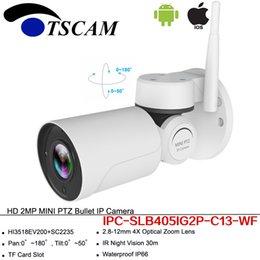 Wifi ip phones online shopping - New HD P MP Bullet IP Camera Pan Tilt Outdoor Waterproof IR PTZ Wireless Wifi Security Surveillance Camera For Mobile Phone