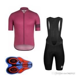 RAPHA team Cycling Short Sleeves jersey (bib) shorts Sleeveless Vest sets  2018 New arrival 9D gel pad Wholesale Top Quality F0802 supplier rapha  jersey set 49b0b17f0