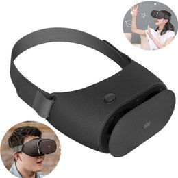 Virtual reality controller online shopping - Original Xiaomi VR Play Virtual Reality D Glasses Headset Xiaomi Mi VR Play2 With Cinema Game Controller For Phones
