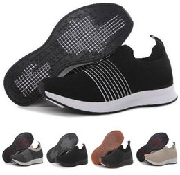 Chinese  popular 2018 new mens Knitted foot pedal net, breathable light running shoes,Knitting Training Sneakers,Running Shoes,Camping Hiking Boots manufacturers