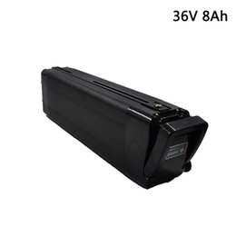 Chinese  36V 8Ah Electric Bicycle Lithium ion Battery for Bafang BBS02 BBSHD 250W 600W Motor E-Scooter Lithium Battery 36v Free Shipping manufacturers