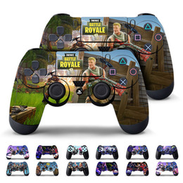 Discount ps4 controller stickers - 13 color Game Fortnite Battle Royal PS4 Slim Skin Sticker For PlayStation hand Controllers Decal Vinyl Kids Toys Gift MM