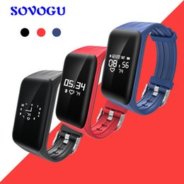 Discount real phones for kids - SOVO Smart Bracelet Activity Tracker Sport Fashion Smart Wristband HR Call Reminder Real-time Smart Band for Running Spo