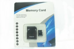 Usb flash memory card 64gb online shopping - DHL ship Class Micro SD TF Memory Card with Adapter Retail Package Flash SD SDHC Cards GB GB USB