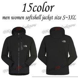 Discount xxl ski jackets women - 15color Men women Softshell jacket Waterproof Breathable Jacket Men Outdoors Sports Coats women Ski Hiking Winter Outwea