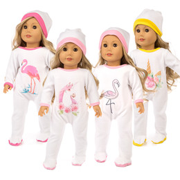 AmericAn girl bAby doll clothes online shopping - New Baby Born Ostrich Horse Elk Fit inch cm American Girl Doll Clothes For Chirdern Doll Accessories Birthday Gift