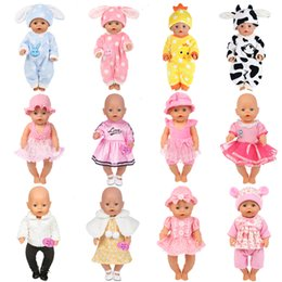 AmericAn girl bAby doll clothes online shopping - 15 Colors Girl Clothes Baby Born Doll Clothes Doll Accessories American Dress Fashion Children Best Gift