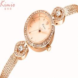 Discount diamond ladies watch silver - Women Dress Watches Diamond Jewelry Clock Lady Steel Chain wristWatch relogio feminino silver Bracelet Rose gold stainle