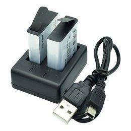 Discount sjcam battery - 1350mAh Rechargeable Li-ion Battery Backup Accessory for C30R S100 PRO SJCAM SJ5000X SJ4000WIFI M10 EKEN H9R Sport Actio