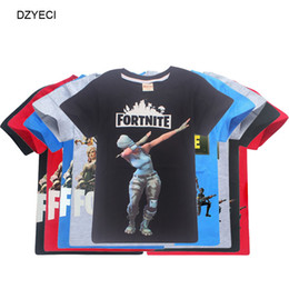 Red boys clothes online shopping - Fortnite Game T Shirt For Big Boy Girl Clothes Costume Fornite Fortnight Kid Cotton Print Tee Teenage Children Boutique Top Clothes
