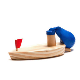 Ship modelS online shopping - The Balloons Ship Wooden Toy Simulation Boat Baby Water Game Balloon Powered Souptoys Model Set Classic Games ld W