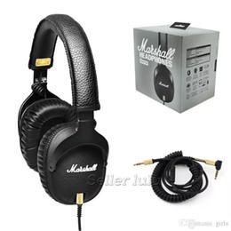 Discount beat headphones - Marshall MONITOR Headphone Headset With Mic Deep Bass Marshall DJ Hi-Fi Headphones HiFi Earphones Professional DJ Monito