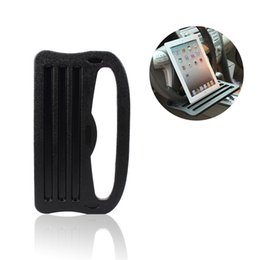 China Car Ipad Support Holder Stand Car Steering Wheel Card Table for Laptop Ipad Phone iPad Galaxy Nexus PC with Grooved Surface cheap steering phone holder suppliers