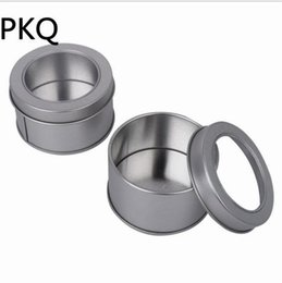 China Diameter 6.5cmx2.5cm 3.23 Mini Tin Storage Box, Small Round Cake Coin Candy Metal Box Case Wedding Favor Organizer Container supplier wedding candy tins suppliers