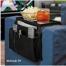 bedding side 2019 - Hanging Sofa Side Storage Bag CellPhones Remote Control Holder Storage Bag Organizer Remote Control Armchair Couch Pouch