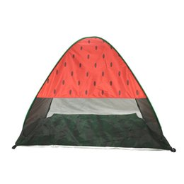 China Widesea New Pop Up Beach Tent Watermelon UV Protective Quick Automatic Open Fishing Hiking And Camping Gazebo 54hy aa cheap new games car suppliers