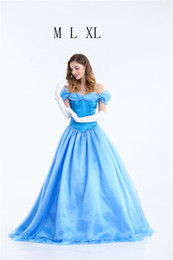 Chinese  Princess Dress Halloween Costume Cinderella Adult Princess Costume Evening Dress For The Masquerade Cosplay Womens Clothing manufacturers