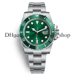 diving watch green bezel 2019 - AAA Luxury Watches Mens Automatic Movement 2813 Watches Men Ceramic Bezel Dive Sport Full Steel Crystal Wristwatches Wat